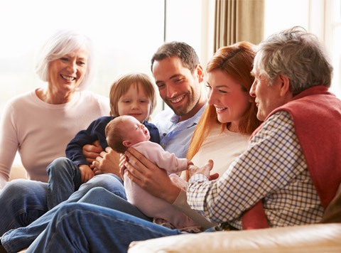 Family protected from long-term care costs